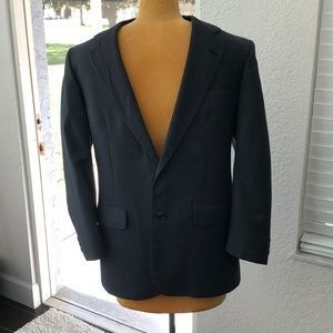 Brooks Brothers Wool Blazer Blue